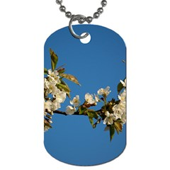 Cherry Blossom Dog Tag (one Sided)