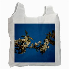 Cherry Blossom Recycle Bag (one Side) by Siebenhuehner