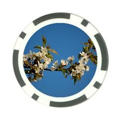 Cherry Blossom Poker Chip (10 Pack) by Siebenhuehner