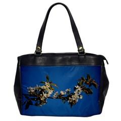Cherry Blossom Oversize Office Handbag (one Side)