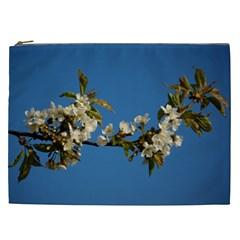 Cherry Blossom Cosmetic Bag (xxl) by Siebenhuehner