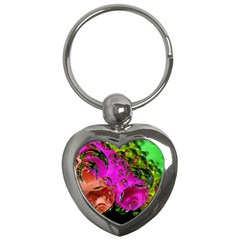 Tubules Key Chain (heart) by Siebenhuehner