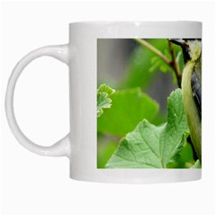 Songbird White Coffee Mug