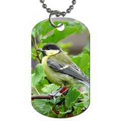 Songbird Dog Tag (two Sided)