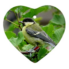 Songbird Heart Ornament (two Sides)