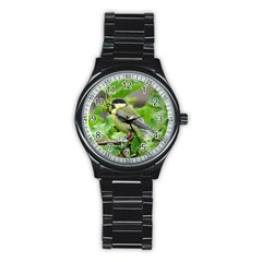 Songbird Sport Metal Watch (black)
