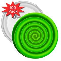 Modern Art 3  Button (100 Pack) by Siebenhuehner