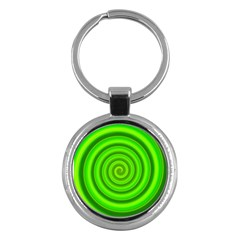 Modern Art Key Chain (round) by Siebenhuehner