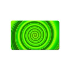 Modern Art Magnet (name Card) by Siebenhuehner