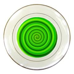 Modern Art Porcelain Display Plate by Siebenhuehner