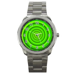Modern Art Sport Metal Watch by Siebenhuehner