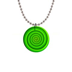 Modern Art Button Necklace
