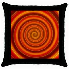 Modern Art Black Throw Pillow Case by Siebenhuehner