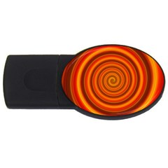Modern Art 2gb Usb Flash Drive (oval) by Siebenhuehner