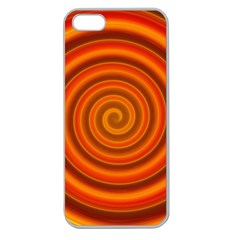 Modern Art Apple Seamless Iphone 5 Case (clear) by Siebenhuehner