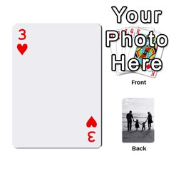 Family Cards By Jack Fleming   Playing Cards 54 Designs   Mhpw3l5lwr48   Www Artscow Com Front - Heart3