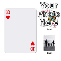 Family Cards By Jack Fleming   Playing Cards 54 Designs   Mhpw3l5lwr48   Www Artscow Com Front - Heart10