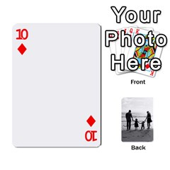 Family Cards By Jack Fleming   Playing Cards 54 Designs   Mhpw3l5lwr48   Www Artscow Com Front - Diamond10