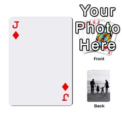 Jack Family Cards By Jack Fleming   Playing Cards 54 Designs   Mhpw3l5lwr48   Www Artscow Com Front - DiamondJ