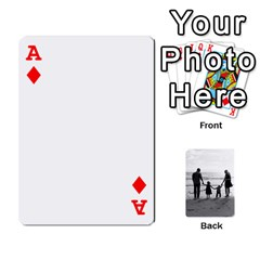 Ace Family Cards By Jack Fleming   Playing Cards 54 Designs   Mhpw3l5lwr48   Www Artscow Com Front - DiamondA