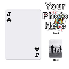Jack Family Cards By Jack Fleming   Playing Cards 54 Designs   Mhpw3l5lwr48   Www Artscow Com Front - ClubJ