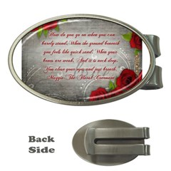 Maggie s Quote Money Clip (oval) by AuthorPScott