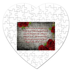 Maggie s Quote Jigsaw Puzzle (heart)