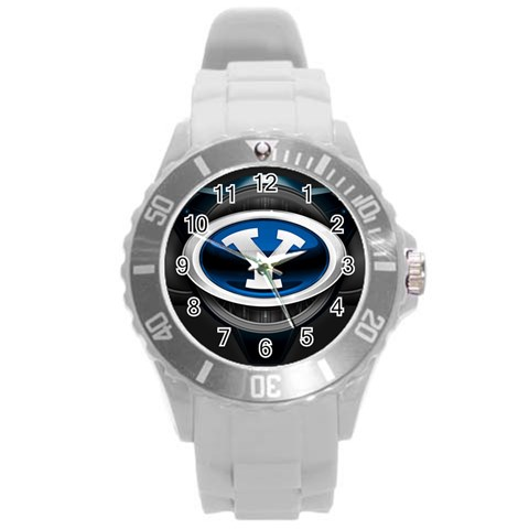 Josh Watch By Linnell Fowers   Round Plastic Sport Watch (l)   Dvd0bbfv8253   Www Artscow Com Front