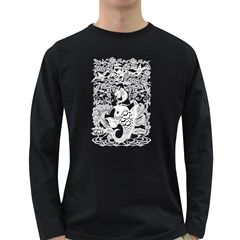 Form Of Auspiciousness Mens' Long Sleeve T Shirt (dark Colored) by doodlelabel