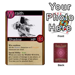 Shadow Hunters Homebrew Characters By Matt Stone   Playing Cards 54 Designs   Dxx81q6arn9u   Www Artscow Com Front - Spade3