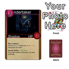 Ace Shadow Hunters Homebrew Characters By Matt Stone   Playing Cards 54 Designs   Dxx81q6arn9u   Www Artscow Com Front - SpadeA