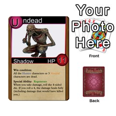 Shadow Hunters Homebrew Characters By Matt Stone   Playing Cards 54 Designs   Dxx81q6arn9u   Www Artscow Com Front - Heart2