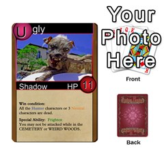 Shadow Hunters Homebrew Characters By Matt Stone   Playing Cards 54 Designs   Dxx81q6arn9u   Www Artscow Com Front - Heart3