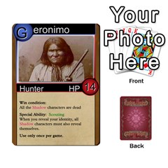 Shadow Hunters Homebrew Characters By Matt Stone   Playing Cards 54 Designs   Dxx81q6arn9u   Www Artscow Com Front - Heart5