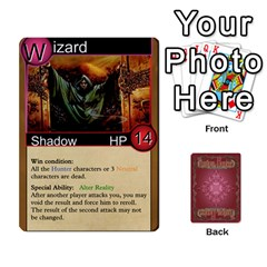 Shadow Hunters Homebrew Characters By Matt Stone   Playing Cards 54 Designs   Dxx81q6arn9u   Www Artscow Com Front - Spade4
