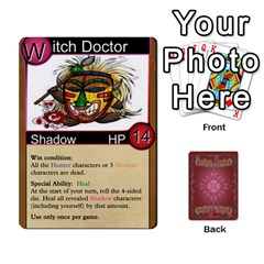 Shadow Hunters Homebrew Characters By Matt Stone   Playing Cards 54 Designs   Dxx81q6arn9u   Www Artscow Com Front - Spade5