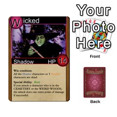 Shadow Hunters Homebrew Characters By Matt Stone   Playing Cards 54 Designs   Dxx81q6arn9u   Www Artscow Com Front - Spade6