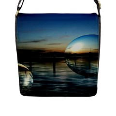 Magic Balls Flap Closure Messenger Bag (large)