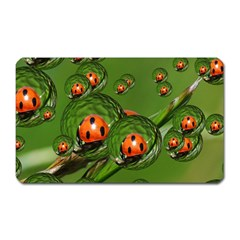 Ladybird Magnet (rectangular)