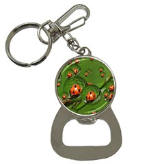 Ladybird Bottle Opener Key Chain by Siebenhuehner