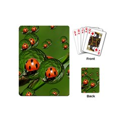 Ladybird Playing Cards (mini) by Siebenhuehner