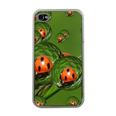 Ladybird Apple Iphone 4 Case (clear)