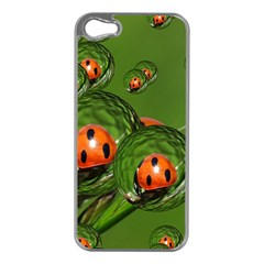 Ladybird Apple Iphone 5 Case (silver) by Siebenhuehner