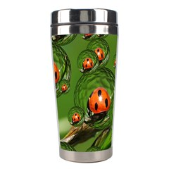 Ladybird Stainless Steel Travel Tumbler