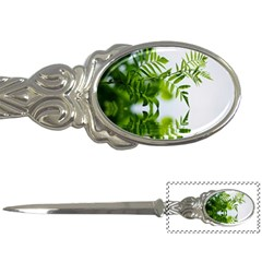 Leafs With Waterreflection Letter Opener by Siebenhuehner