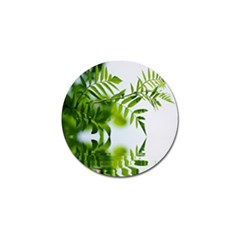 Leafs With Waterreflection Golf Ball Marker 4 Pack