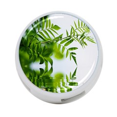 Leafs With Waterreflection 4 Port Usb Hub (two Sides) by Siebenhuehner