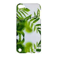 Leafs With Waterreflection Apple Ipod Touch 5 Hardshell Case by Siebenhuehner