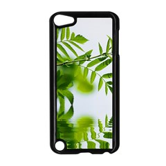 Leafs With Waterreflection Apple Ipod Touch 5 Case (black) by Siebenhuehner