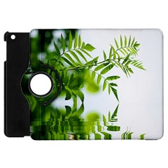 Leafs With Waterreflection Apple Ipad Mini Flip 360 Case by Siebenhuehner